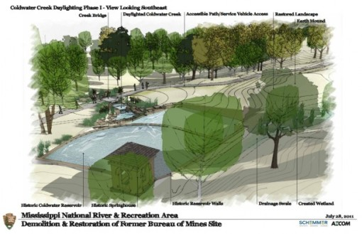 Phase one design for Coldwater Springs - NPS